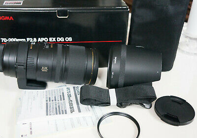 Sigma 70-200mm F 2.8 APO EX DG OS ( Optical Stabilizer) für Nikon