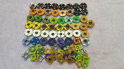 Genuine Lego Ninjago Minifigure Spinners x49 Job Lot Bundle Spinning Tops Stands