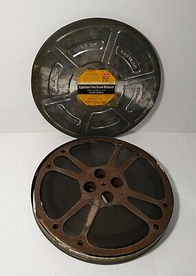 """Eastman Kodak 5302 Film Tin Canister + Reels Movie  """"Strictly in the Groove"""""""
