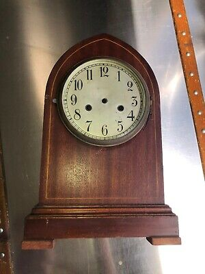 Antique English Bracket(?) Beehive/Cathedral Clock Case/Dial/Bezel/Parts