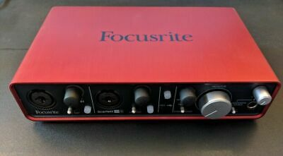 Focusrite Scarlett 2i4 USB Audio Interface 1st Gen