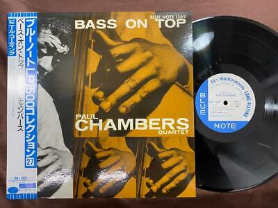 Paul Chambers Bass On Top Blue Note Blp 1569 Obi Mono Japan Vinyl Lp
