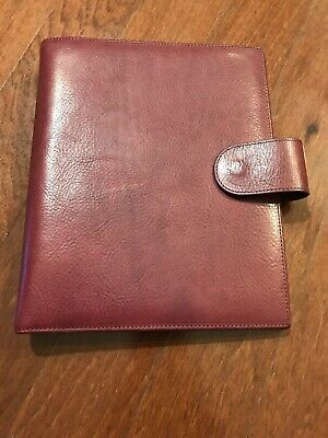 Gillio Firenze Ring Binder Planner Epoca Amica A5 Purple