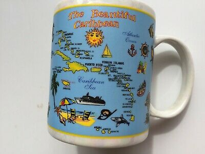 The Beautiful Caribbean Coffee Cup