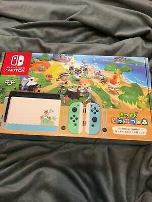 Animal Crossing New Horizons Nintendo Switch DOCK & TABLET ONLY Japan Import