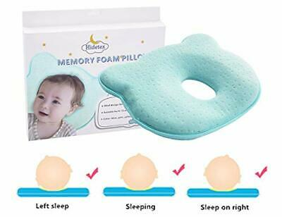Preventing Flat Head Syndrome (Plagiocephaly) for Your Newborn Baby-(Blue)