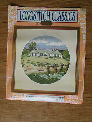 Longstitch Classic Kit Of A Homestead At Axedale 28.7Cms High X 29.6Cms Wide