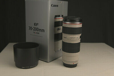 Canon EF 70-200mm f/4L USM Lens EXCELLENT!