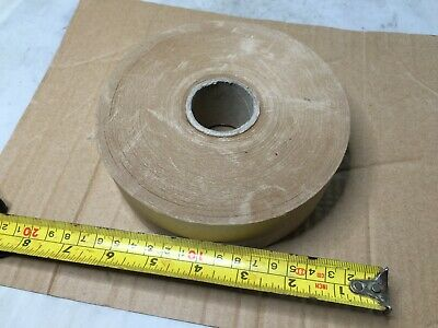 2 Gummed Tape 46mm x 200m Picture Framing Tape Gum TaPE   Paper BROWN 160MM WIDE