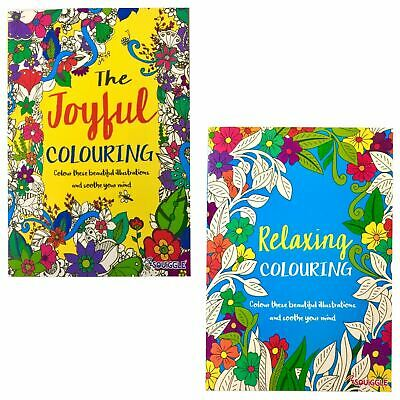 Stress Relieving Colouring Books for Adults - Joyful or Relaxing