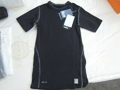 Nike Pro Combat Dri Fit Compression top Large Boys new in bag with tags