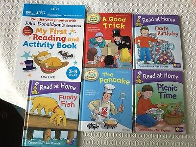 Oxford Reading Tree stage 1 Biff Chip and Kipper Songbirds phonics books bundle