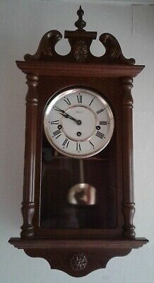 Hermle Small Westminster Chime Wall Clock