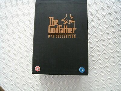 The Godfather Trilogy DVD Complete Box Set 1-3 Collection The Godfather 1 2 3
