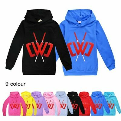 Kids Chad Wild Clay CWC Hoodies Youth Children Casual Hooded Top Jumper Age 3-12