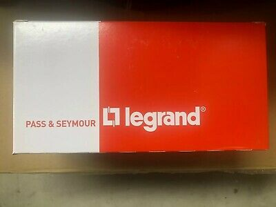10 PACK Legrand Pass & Seymour single pole PS20AC1W, 120/277V 20A, WHITE