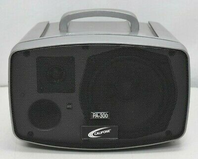 Califone PA-300  Presentation Pro Stereo Portable PA Speaker