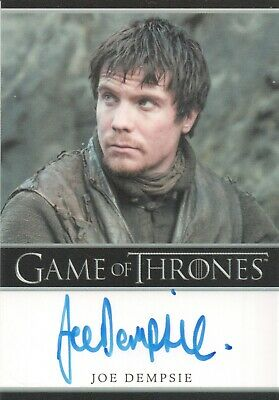 Game Of Thrones Season 8, Joe Dempsie (Gendry) Bordered Autograph Card
