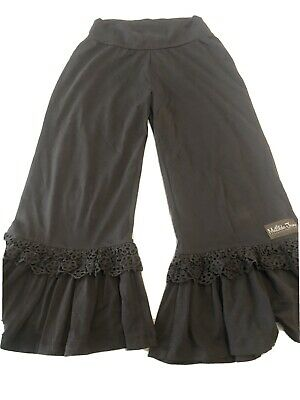 Matilda Jane TRAIL RUNNER Big Ruffles Size Small Pants Womens Capris