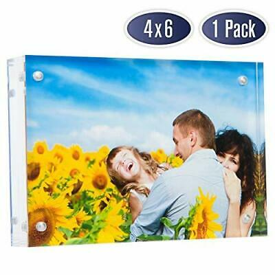 Dasher Products Acrylic Picture Frame 4x6 (1 Pack)