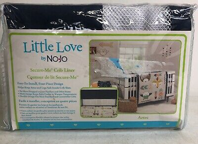 Little Love by NoJo Secure-Me Crib Liner Aztec