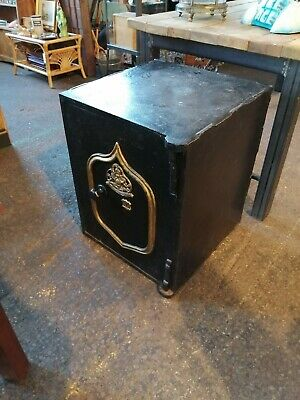 Very Heavy Large Antique Safe