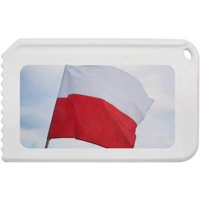 'Polish Flag' Plastic Ice Scraper (IC00004156)