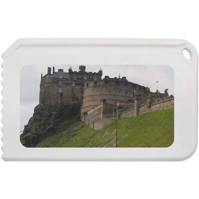 'Edinburgh Castle' Plastic Ice Scraper (IC00008097)