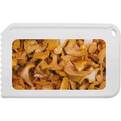'Chanterelle Mushrooms' Plastic Ice Scraper (IC00006866)