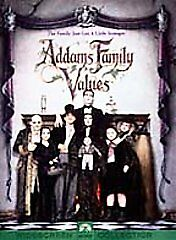 Addams Family Values (DVD, 2000) BRAND NEW SEALED