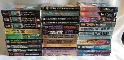 Books by Author Anne McCaffrey, Science Fiction, Pick 1 or more titles, PB's