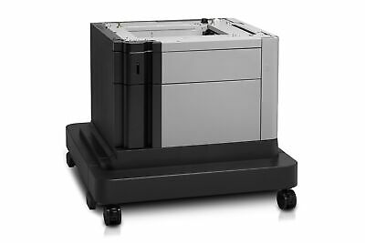 New  Hp Laserjet 1X500-Sheet Paper Feeder And Cabinet Printer Cabinet/Stand