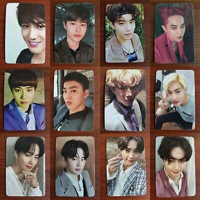 LOT of 12 SUHO EXO Authentic Official PHOTOCARD Self-Portrait 1st Album Full Set