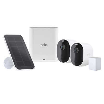 Arlo Pro 3 Wire-Free Security System - 2 Camera, 1 Solar Panel and 3 Battery Kit