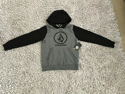Volcom Boys 12 New Hoody Hoodie Jumper Surf Snow Skate Paid $60 Unwanted Gift