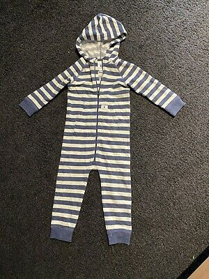 Country Road Baby Hooded Jumpsuit Size 1 Size 2 18 Months