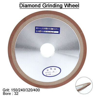7''x5/4'' Resin Diamond Grinding Disc F Carbide Metal Cutter Grinder Grit150-400