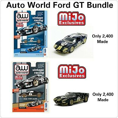 N12 Auto World Gulf 1965 GT40 Exclusives 3600 Pieces