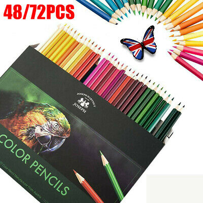 72PCS Professional Artist Pencils Set Drawing Sketching Colouring Art Kit Adult