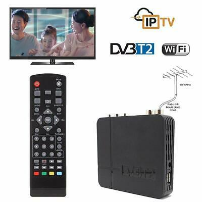 1080P HD DVB-T2 Digital Receiver 3D Set Top TV Box USB Freeview Recorder HDMI