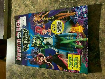 Monster High 13 Wishes - Dvd Size - Slip Cover Only