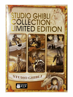 Studio Ghibli Collection Limited Edition Complete 18-Movie Miyazaki ( NEW DVD )