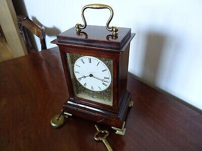 Late 18th Early 19th Century Rosewood Cased Campaign Timepiece for Restoration.