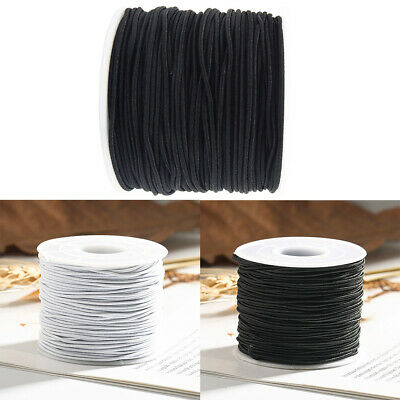 Round Elastic Band Cord for Mouth Mask Crafts Ear Hanging DIY Materials 20-25m