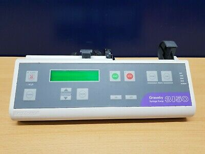 Graseby 3150 syringe infusion pump driver