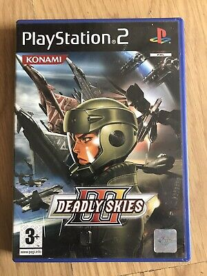 Deadly Skies Iii 3 Sony Playstation 2 Ps2 Game With Manual Official Uk Pal Vgc