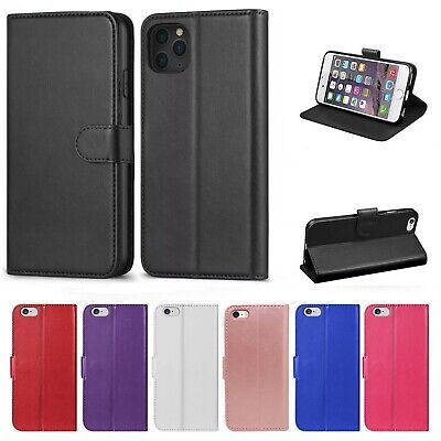 Case Cover for Apple iPhone X 8 7 6s 5s Plus XR 11 Magnetic Leather Flip Wallet