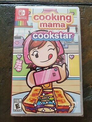 Cooking Mama: Cookstar (Nintendo Switch, 2020) *BRAND NEW/FACTORY SEALED*