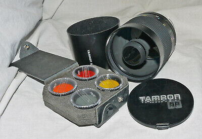 Tamron SP 500mm f/8 Telephoto Mirror Lens