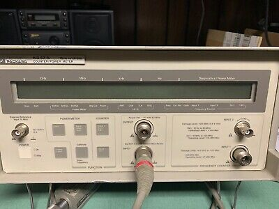 HP 5347A 10Hz - 20GHz Frequency Counter and Power Meter